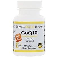 CoQ10, 100 мг, 30 вегетарианских мягких таблеток - фото