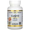 California Gold Nutrition, коэнзимQ10, 100мг, 120растительных капсул