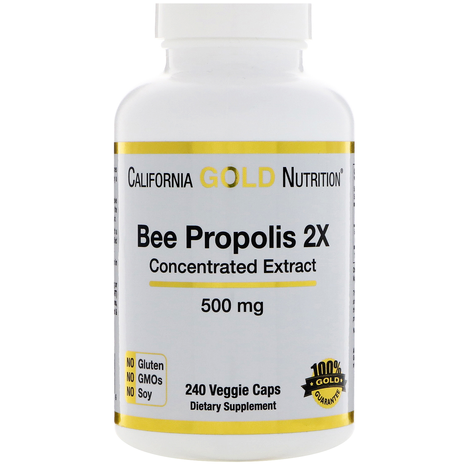 California Gold Nutrition, Bee Propolis 2X, Concentrated