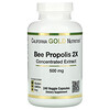 California Gold Nutrition, Bee Propolis 2X, Concentrated Extract, 500 mg, 240 Veggie Caps