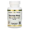 California Gold Nutrition, Maca Peruana, 500 mg, 90 Cápsulas Vegetais