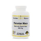 Отзывы о California Gold Nutrition, Peruvian Maca, 500 mg, 240 Veggie Caps