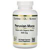 California Gold Nutrition, Maca Peruana, 500mg, 240 Cápsulas Vegetais