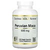 California Gold Nutrition, Maca péruvienne, 500mg, 240capsules végétariennes