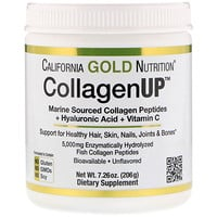 California Gold Nutrition, CollagenUP, geschmacksneutral, 206 g (7,26 oz)