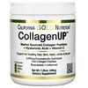 California Gold Nutrition, CollagenUP، كولاجين بحري + حمض الهيالورونيك + فيتامين جـ، بدون نكهات، 7.26 أونصة (206 جم)