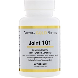 California Gold Nutrition, Targeted Support, Joint 101, 60 Veggie Capsules
