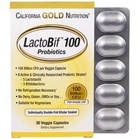 LactoBif 100 в блистере из двойной фольги, в упаковке 30 капсул - фото