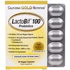 California Gold Nutrition, LactoBif 100素食膠囊雙箔吸塑包30ct
