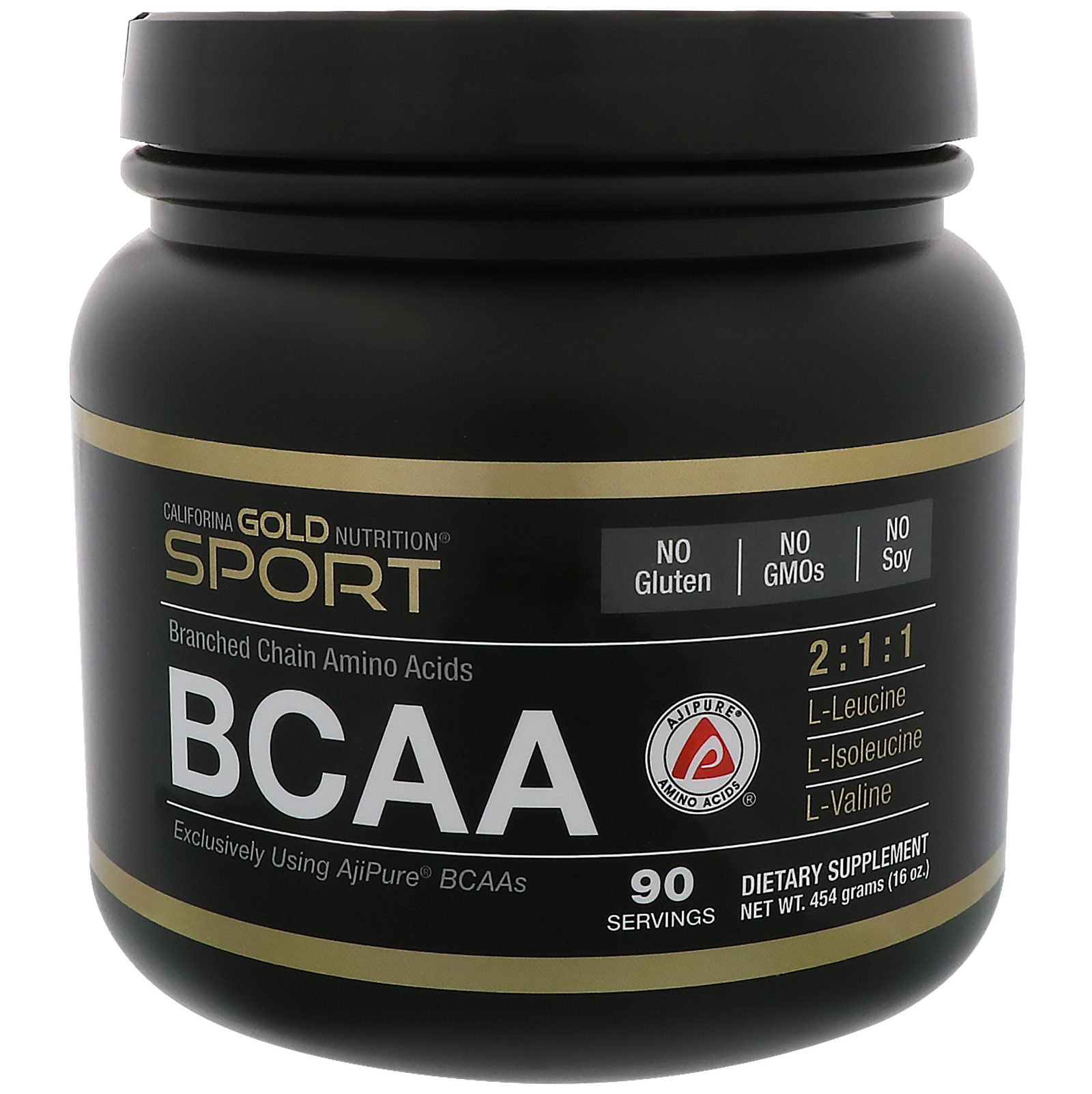 California Gold Nutrition, BCAA, AjiPure® Branched Chain Amino Acids