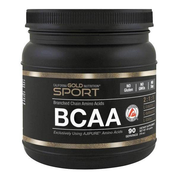 California Gold Nutrition, BCAA、AjiPure、分枝鎖アミノ酸、グルテンフリー、16オンス (454 g)