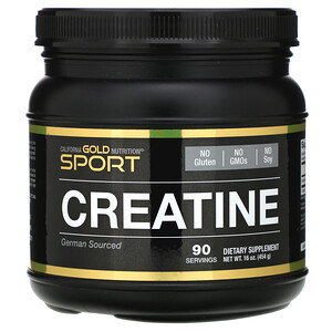 California Gold Nutrition, Creatine Monohydrate, Unflavored, 16 oz (454 g) отзывы покупателей