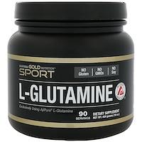 L-глутамин, AjiPure, порошок без примесей, без глютена, 16 унций (454 г) - фото