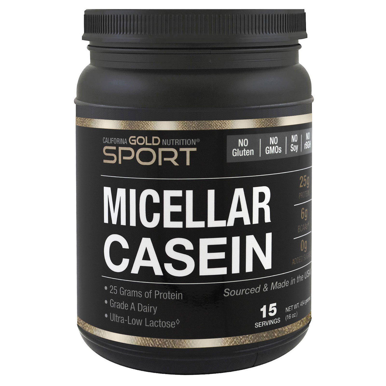 California Gold Nutrition Sport Micellar Casein Protein