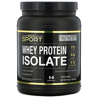 California Gold Nutrition, SPORT – Isolat de protéines de lactosérum, 450 g