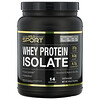 California Gold Nutrition, 100% Whey Protein Isolate, Unflavored, 16 oz (454 g)