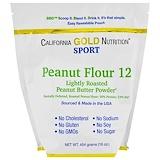Отзывы о California Gold Nutrition, Порошок арахисовой пасты, 12% жира, без глютена, 16 унций (454 г)