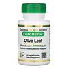 California Gold Nutrition, Extrato de Folha de Oliveira, EuroHerbs, Qualidade Europeia, 500 mg, 60 Cápsulas Vegetais