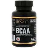 Отзывы о California Gold Nutrition, BCAA, AjiPure, аминокислоты с разветвленной цепью, без глютена, 500 мг, 60 вегетарианских капсул