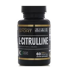 California Gold Nutrition, L-Citrullina, Kyowa Hakko, 500 mg, 60 cápsulas veganas