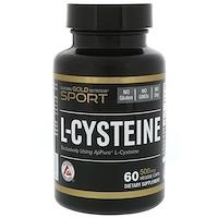 L-цистеин, AjiPure, 500 мг, 60 вегетарианских капсул - фото