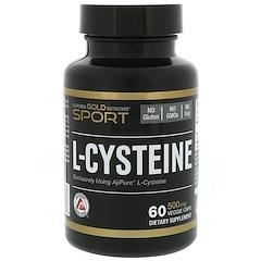 California Gold Nutrition, L-Cysteine, AjiPure, 500 mg, 60 Veggie Caps