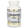 California Gold Nutrition, スポーツL-グルタミン、1,000mg、植物性カプセル60粒