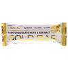 California Gold Nutrition, Gold Bar, Dark Chocolate Nuts & Sea Salt Bar, 12 Bars, 1.4 oz (40 g) Each