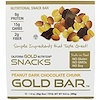California Gold Nutrition, Gold Bar, Peanut Dark Chocolate Chunk, 12 Bars, 1.4 oz (40 g) Each