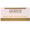 California Gold Nutrition, Barra Dourada, Chocolate Amargo e Amendoim, 12 Barras, 1,4 oz (40 g) cada