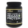 California Gold Nutrition, Very Vanilla Flavor Vegan Protein, Pea & Brown Rice, No Soy, No GMOs, 16 oz (454 g)