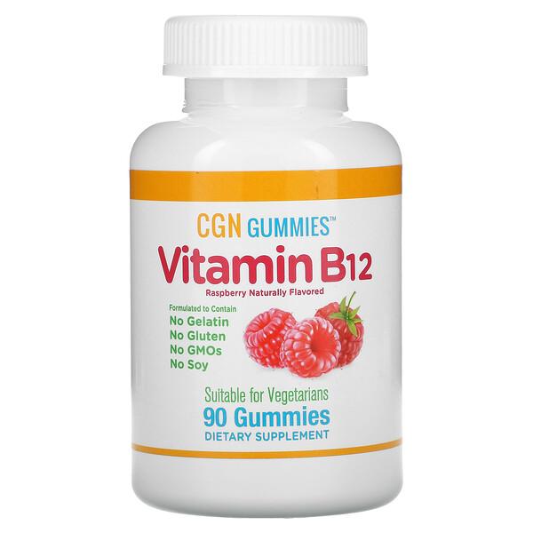 VitaminaB12, Frambuesa, 90gomitas
