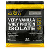 California Gold Nutrition, 100% Whey Protein Isolate, Very Vanilla Flavor, 2 lbs (907 g)