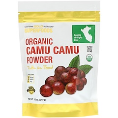 California Gold Nutrition, Superfoods, Organic Camu Camu Powder, 8.5 oz (240 g)