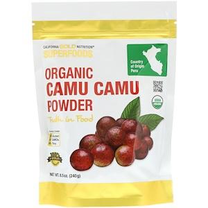 California Gold Nutrition, Superfoods, Organic Camu Camu Powder, 8.5 oz (240 g) отзывы