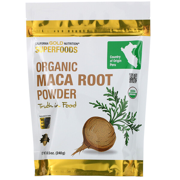 Superfoods, Organic Maca Root Powder, 8.5 oz (240 g)