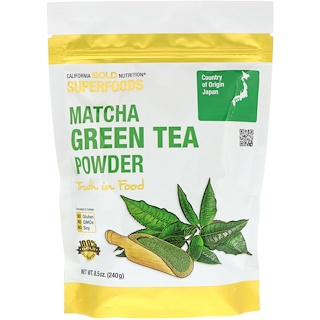 California Gold Nutrition, Superfoods, Matcha Green Tea Powder, 8.5 oz (240 g)