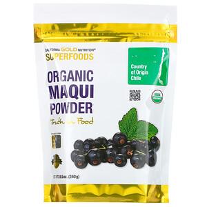 California Gold Nutrition, Superfoods, Organic Maqui Powder, 8.5 oz (240 g) отзывы покупателей