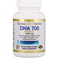 California Gold Nutrition, DHA 700フィッシュオイル、医薬品グレード, 1000 mg, 魚ゼラチンソフトジェル30個