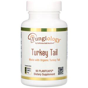 California Gold Nutrition, Fungiology, Full-Spectrum Turkey Tail, 90 Plantcaps отзывы
