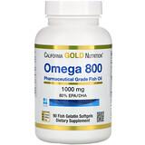 California Gold Nutrition, Омега-3, рыбий жир премиального качества, 100рыбно-желатиновых капсул - iHerbcheckoutarrow