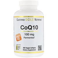 CoQ10, 100 mg, 360 Овощные мягкие гели - фото