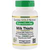 Экстракт расторопши, 80% силимарина, EuroHerbs, клиническая эффективность, 180 вегетарианских капсул