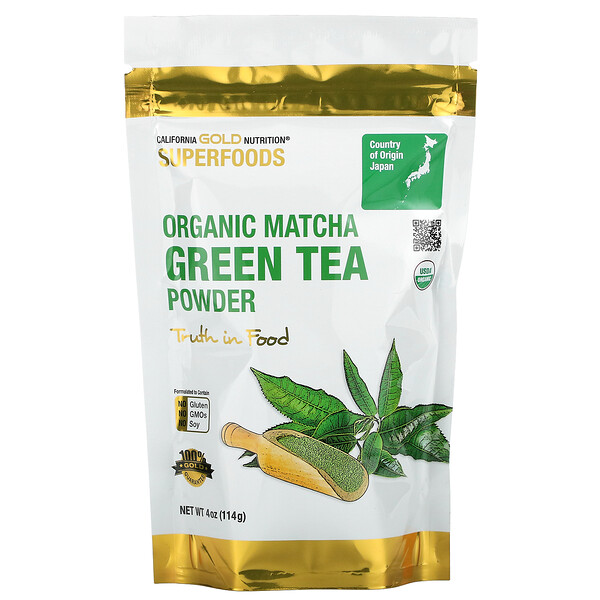 Superfoods, Té verde de matcha en polvo, 114g (4oz)