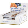California Gold Nutrition, Foods, Wild Blueberry & Almond Chewy Granola Bars, 12 Bars, 1.4 oz (40 g) Each