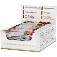 Foods, Разнообразные закусочные батончики, 12 батончиков, 1,4 унции (40 г) каждый - фото