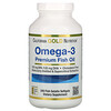 California Gold Nutrition, オメガ3、プレミアムフィッシュオイル、魚ゼラチンソフトジェル240粒
