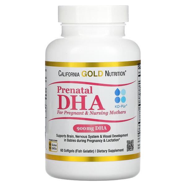 Prenatal DHA for Pregnant & Nursing Mothers, 450 mg, 60 Softgels