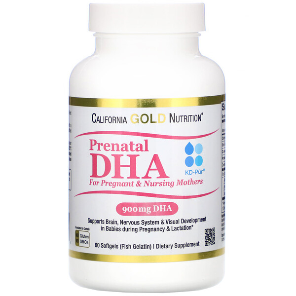 Prenatal DHA for Pregnant & Nursing Mothers, 900 mg, 60 Softgels