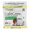 California Gold Nutrition, CafeCeps 有机速溶咖啡,有机认可,含虫草和灵芝粉,3.52 盎司(100 克)